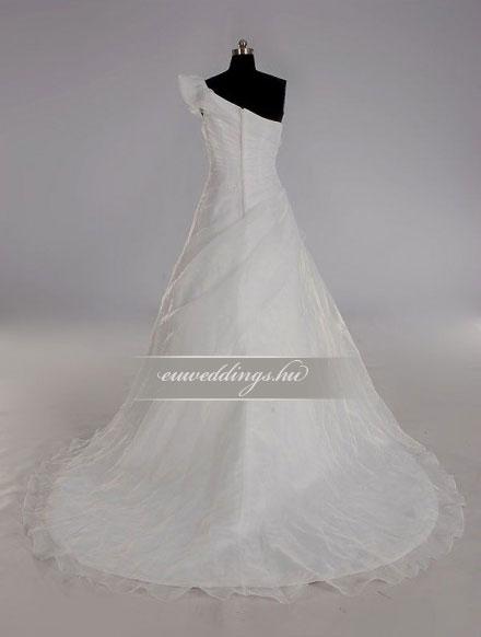 89003696e3 Menyasszonyi ruha A vonalú pántos-AVP-428