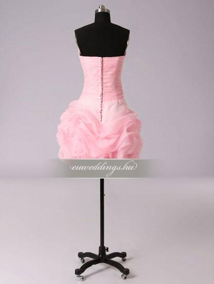 Menyasszonyi ruha A vonalú színes és mintás-AVS-1810