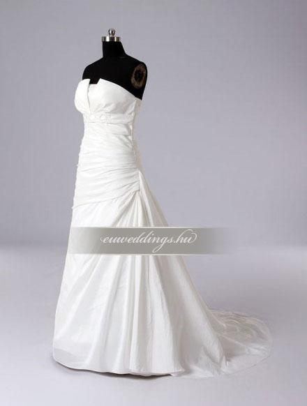 Menyasszonyi ruha A vonalú ujjatlan-AVU-2167