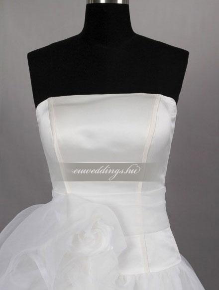 Menyasszonyi ruha A vonalú ujjatlan-AVU-2503