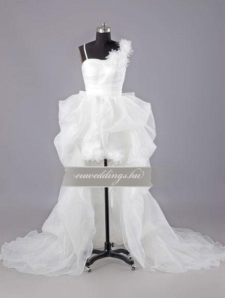 Menyasszonyi ruha aszimmetrikus pántos-ARP-1