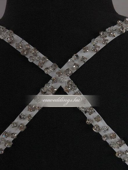 Menyasszonyi ruha aszimmetrikus pántos-ARP-11
