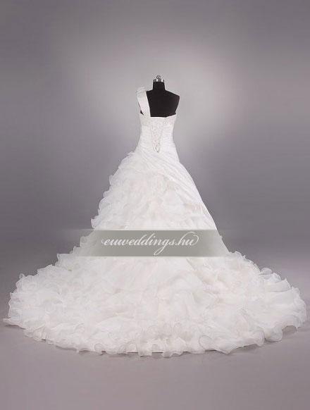 Menyasszonyi ruha báli fazonú pántos-BFP-3973