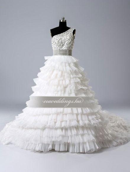 Menyasszonyi ruha báli fazonú pántos-BFP-3991