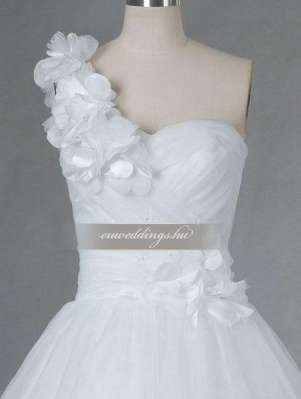 Menyasszonyi ruha báli fazonú pántos-BFP-4001