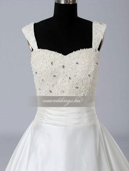 Menyasszonyi ruha báli fazonú pántos-BFP-4083