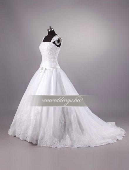 Menyasszonyi ruha báli fazonú pántos-BFP-4097