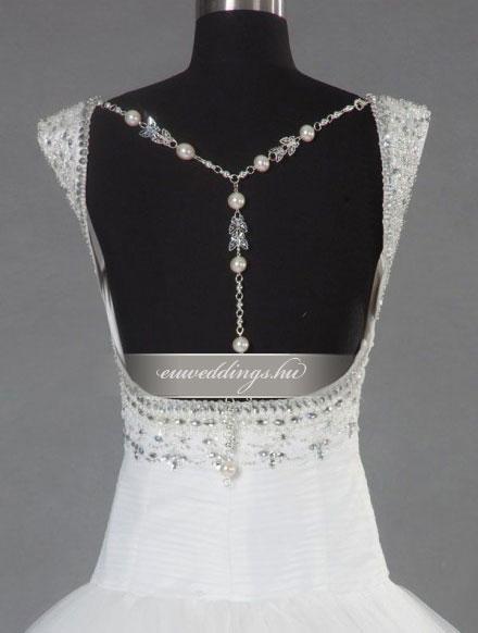 Menyasszonyi ruha báli fazonú pántos-BFP-4112