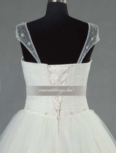 Menyasszonyi ruha báli fazonú pántos-BFP-4131