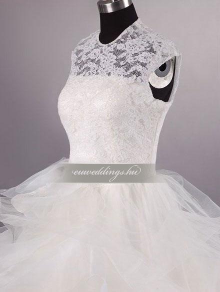 Menyasszonyi ruha báli fazonú pántos-BFP-4179