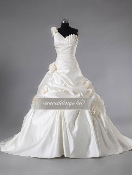 Menyasszonyi ruha báli fazonú pántos-BFP-4259