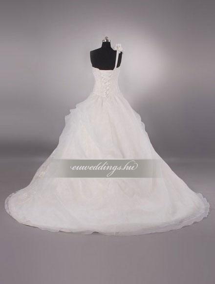 Menyasszonyi ruha báli fazonú pántos-BFP-4319