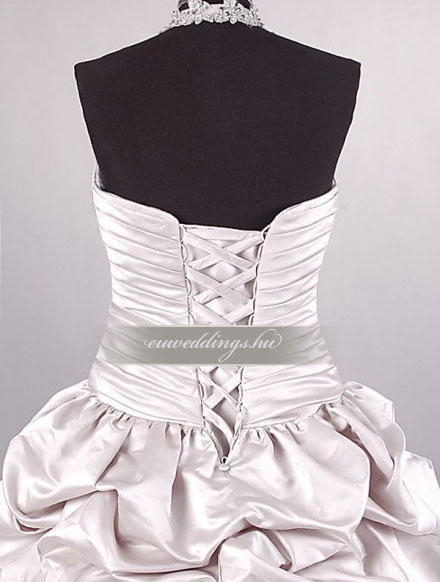 Menyasszonyi ruha báli fazonú színes és mintás-BFS-4630