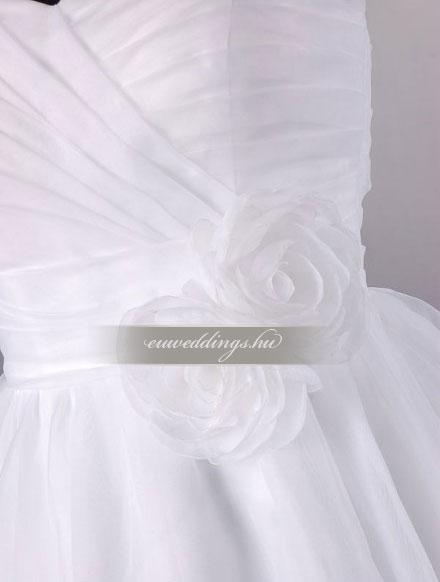 Esküvői ruha báli fazonú ujjatlan-BFU-5971