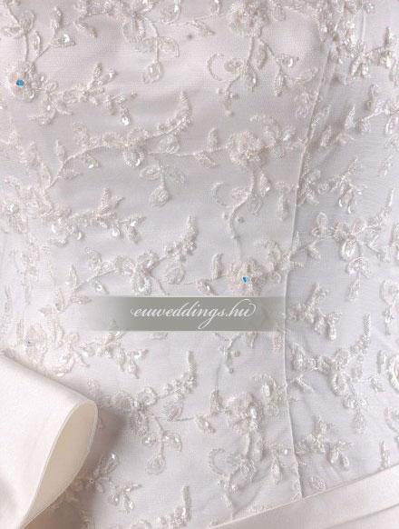 Esküvői ruha báli fazonú ujjatlan-BFU-6298