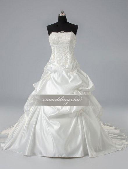 Esküvői ruha báli fazonú ujjatlan-BFU-6332