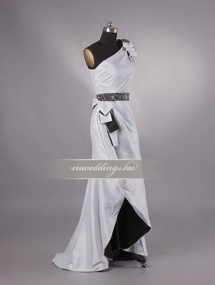 Menyasszonyi ruha egyenes fazonú mintás és színes-EFH-7828