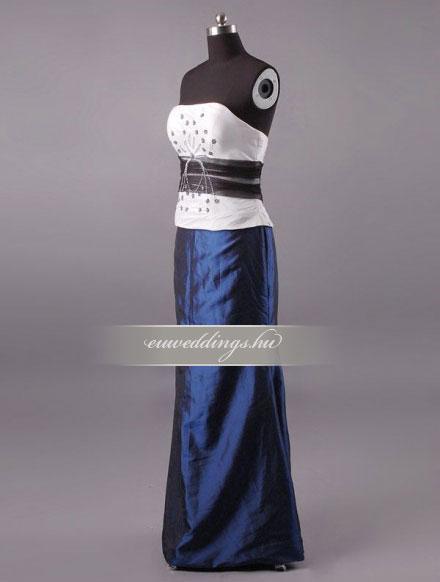 Menyasszonyi ruha egyenes fazonú mintás és színes-EFH-7862