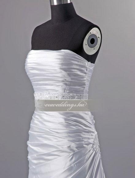 Esküvői ruha egyenes fazonú ujjatlan-EFU-8300
