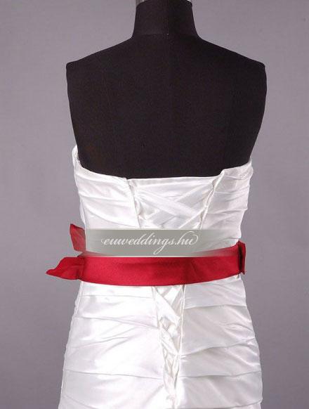 Esküvői ruha egyenes fazonú ujjatlan-EFU-8450
