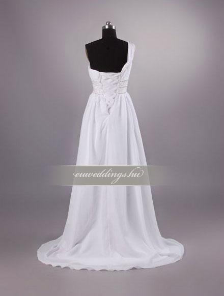 Menyasszonyi ruha empire fazonú pántos-EPP-8589