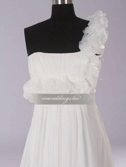 Menyasszonyi ruha empire fazonú pántos-EPP-8650
