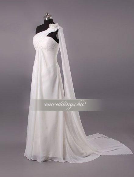 Menyasszonyi ruha empire fazonú pántos-EPP-8759