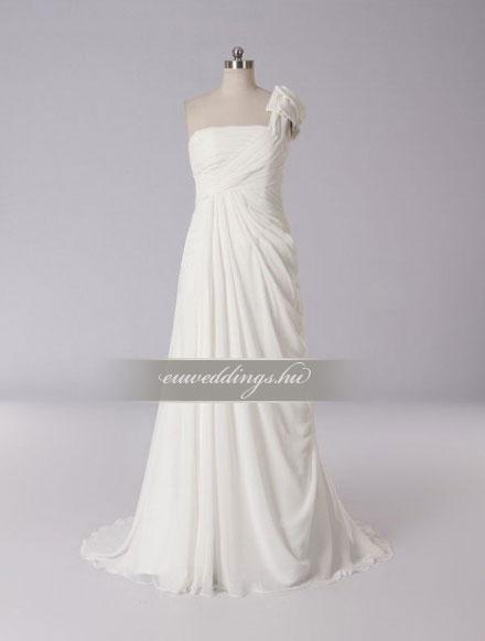 Menyasszonyi ruha empire fazonú pántos-EPP-8779