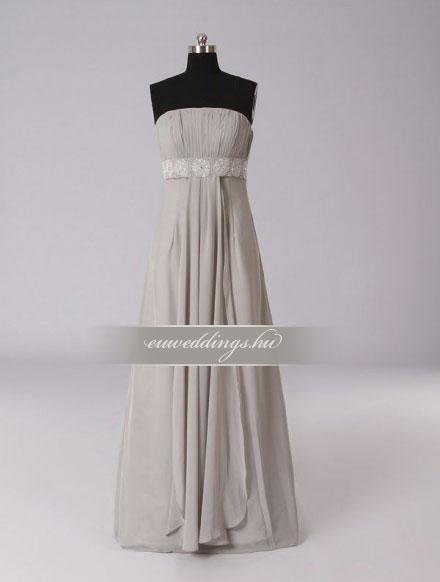 Menyasszonyi ruha empire fazonú színes és mintás-EPS-8854