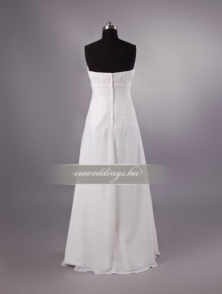 Menyasszonyi ruha empire fazonú ujjatlan-EPU-8966