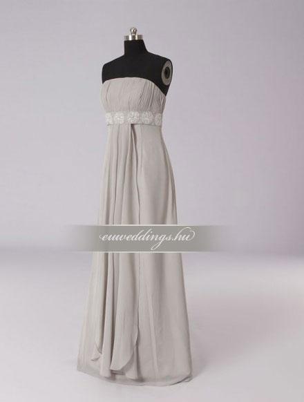 Menyasszonyi ruha empire fazonú ujjatlan-EPU-9073