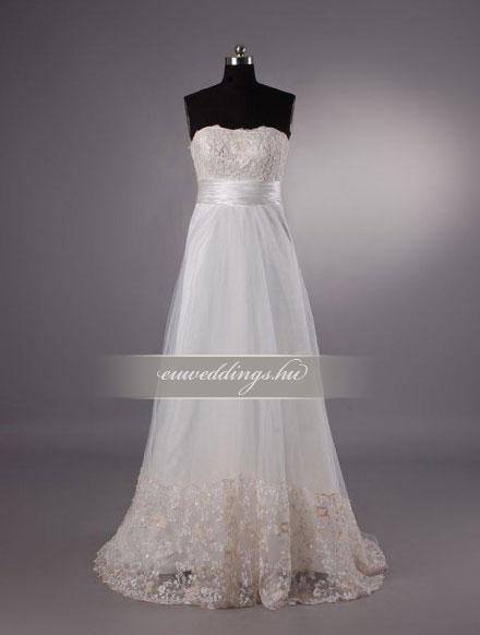 Menyasszonyi ruha kismamáknak-KMR-9205