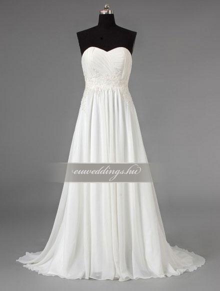 Menyasszonyi ruha kismamáknak-KMR-9230