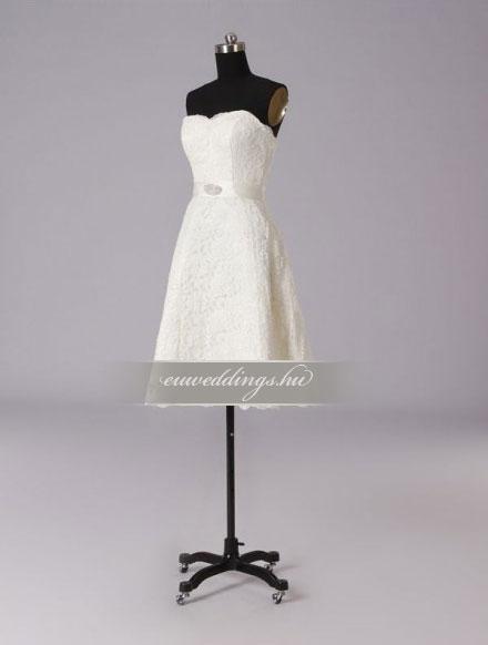 Esküvői ruha rövid-RMR-9502