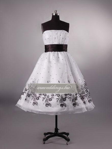 Esküvői ruha rövid-RMR-9557