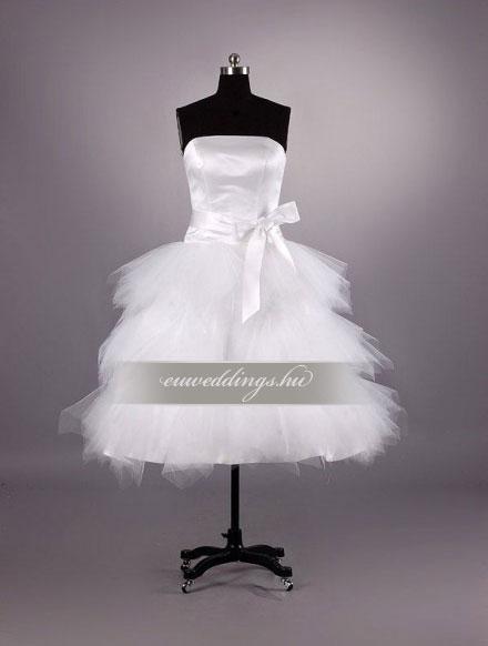 Esküvői ruha rövid-RMR-9595