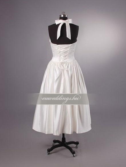 Esküvői ruha rövid-RMR-9624