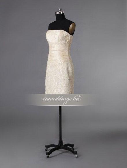 Esküvői ruha rövid-RMR-9648