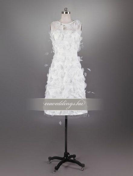 Esküvői ruha rövid-RMR-9672