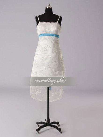 Esküvői ruha rövid-RMR-9687