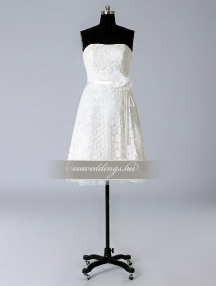 Esküvői ruha rövid-RMR-9829