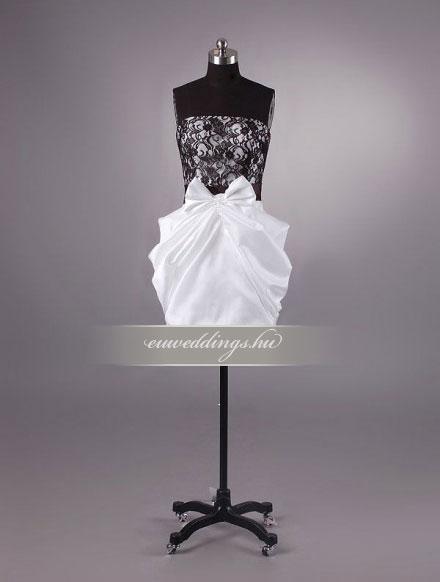 Esküvői ruha rövid-RMR-9844