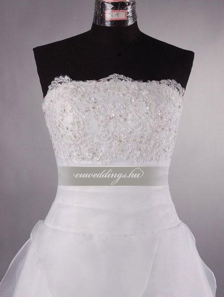 Esküvői ruha rövid-RMR-9873