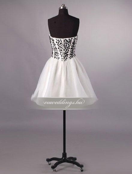 Esküvői ruha rövid-RMR-9887