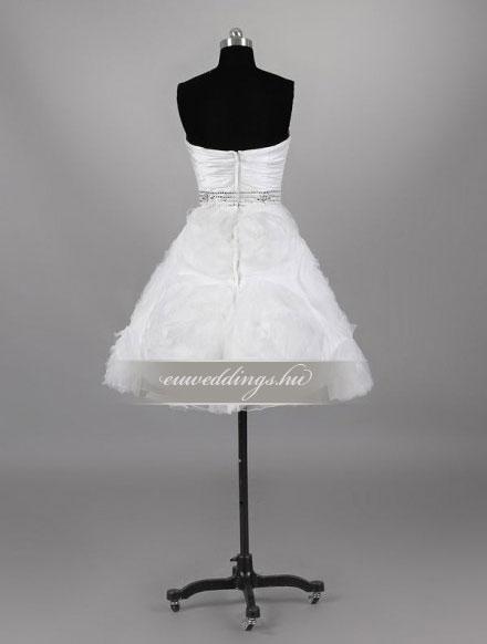 Esküvői ruha rövid-RMR-9891
