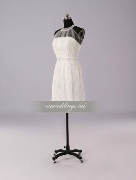 Esküvői ruha rövid-RMR-9911