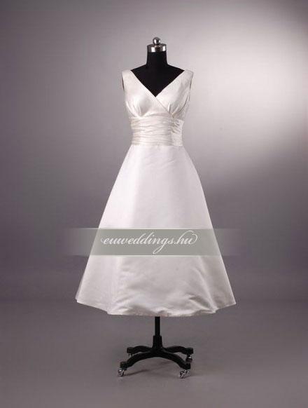 Esküvői ruha rövid-RMR-9938