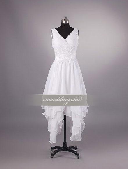 Esküvői ruha rövid-RMR-9942