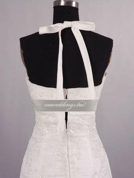Esküvői ruha sellő fazonú pántos-SFP-9998