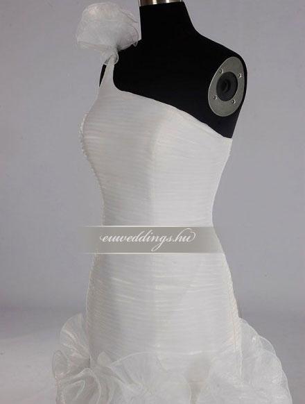 Esküvői ruha sellő fazonú pántos-SFP-10018